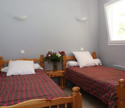 chambre hébergements Les Cabannes
