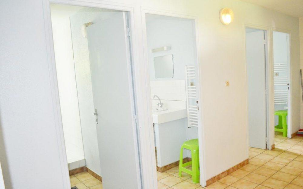 Salle de bain gîte d'étape